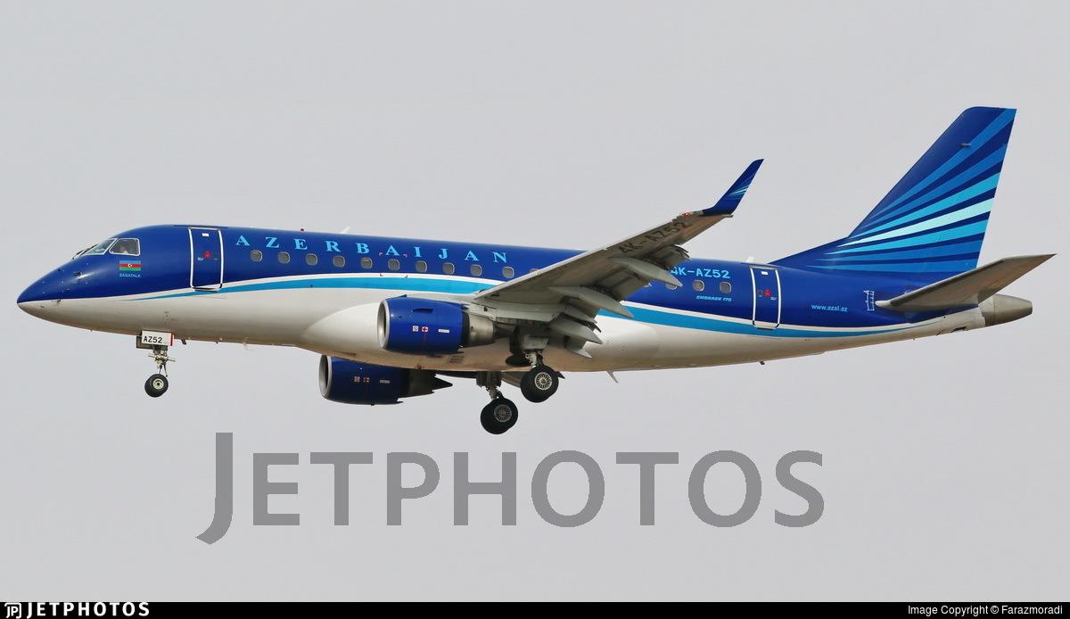 4K-AZ52 - Embraer 170-100LR - AZAL Azerbaijan Airlines