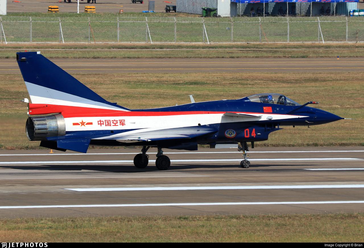 04 - Chengdu J10AY - China - Air Force