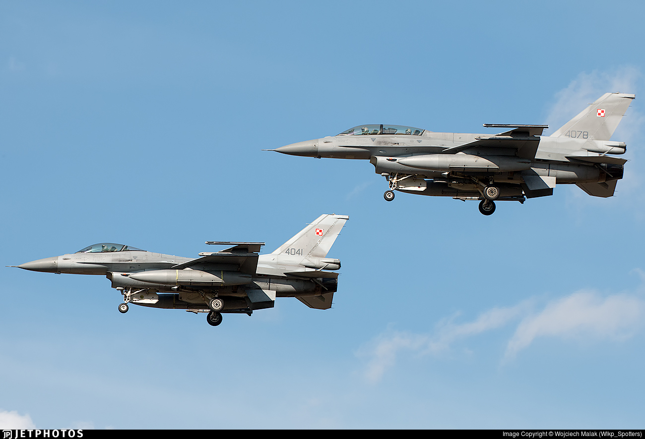 4078 - Lockheed Martin F-16D Fighting Falcon - Poland - Air Force