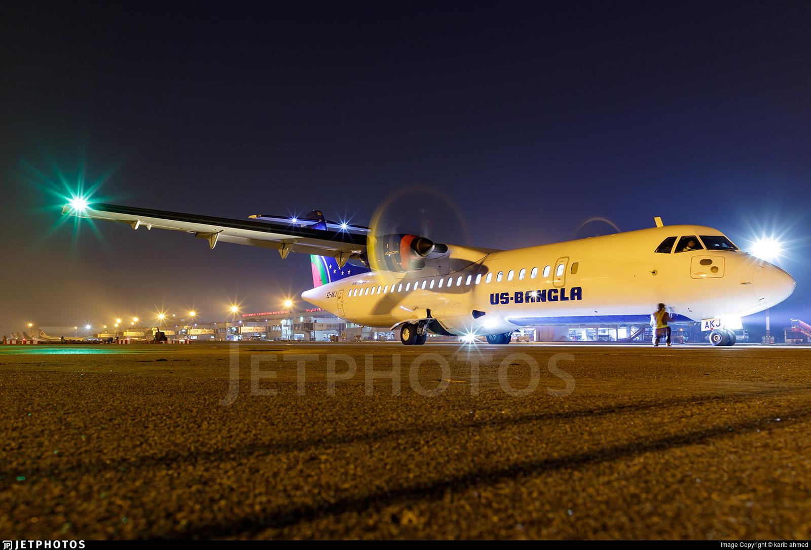 S2-AKJ - ATR 72-212A(600) - US-Bangla Airlines