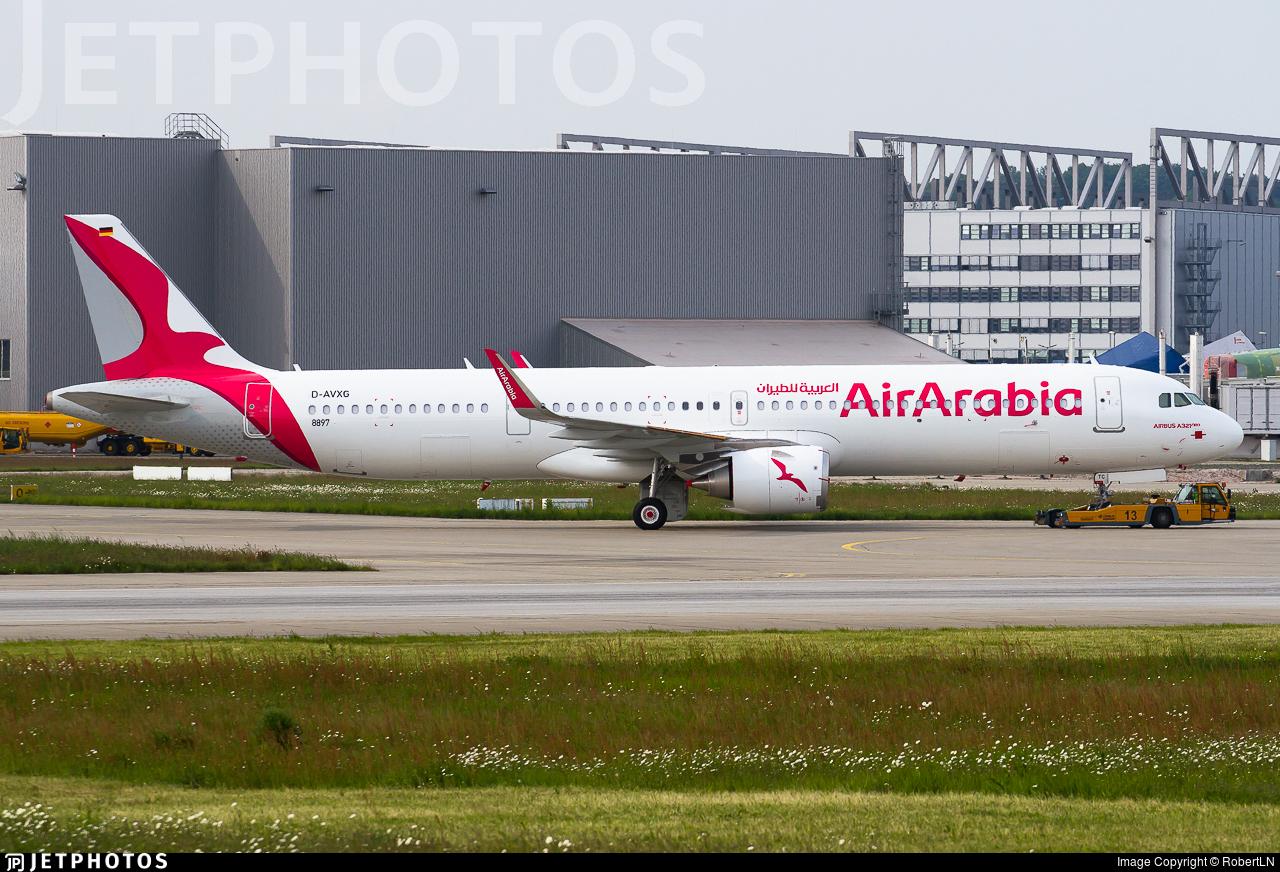 D-AVXG - Airbus A321-251NX - Air Arabia