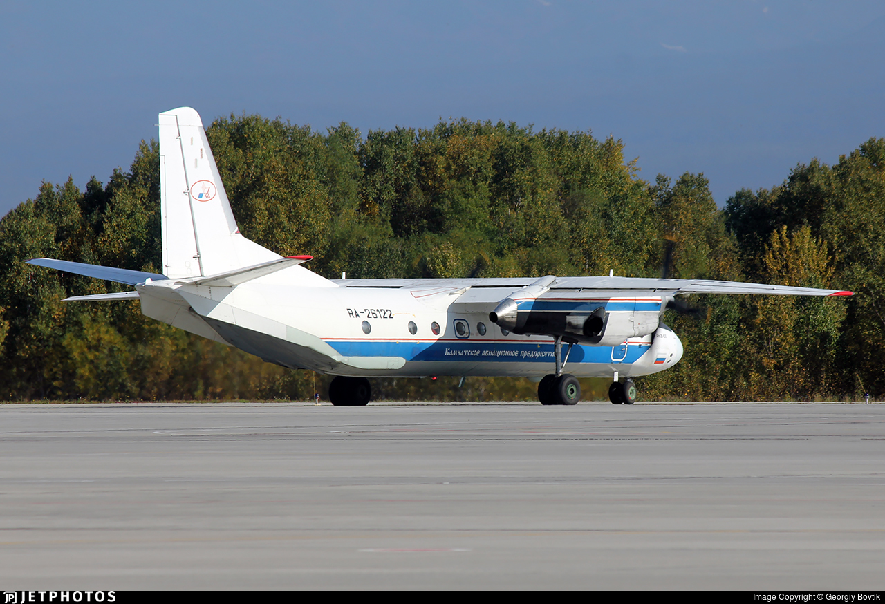 RA-26122 - Antonov An-26-100 - Petropavlovsk-Kamchatskoe Aviation Enterprise