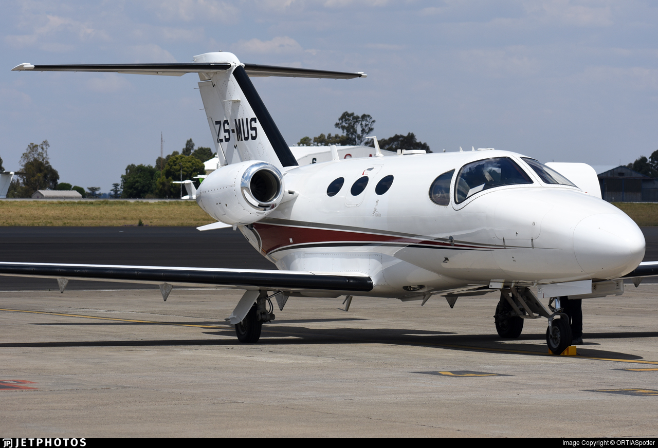 ZS-MUS - Cessna 510 Citation Mustang - Private