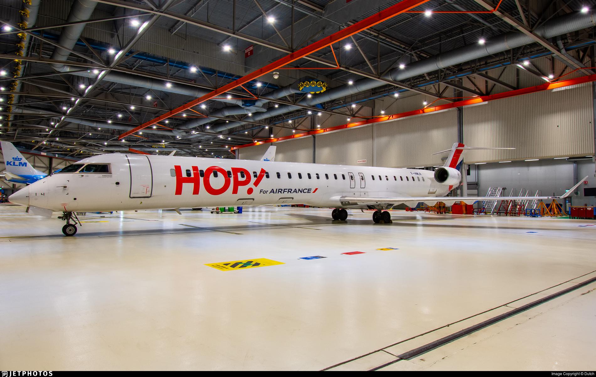 F-HMLK - Bombardier CRJ-1000EL - HOP! for Air France