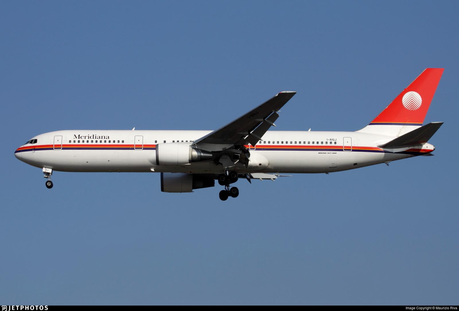 I-AIGJ - Boeing 767-304(ER) - Meridiana
