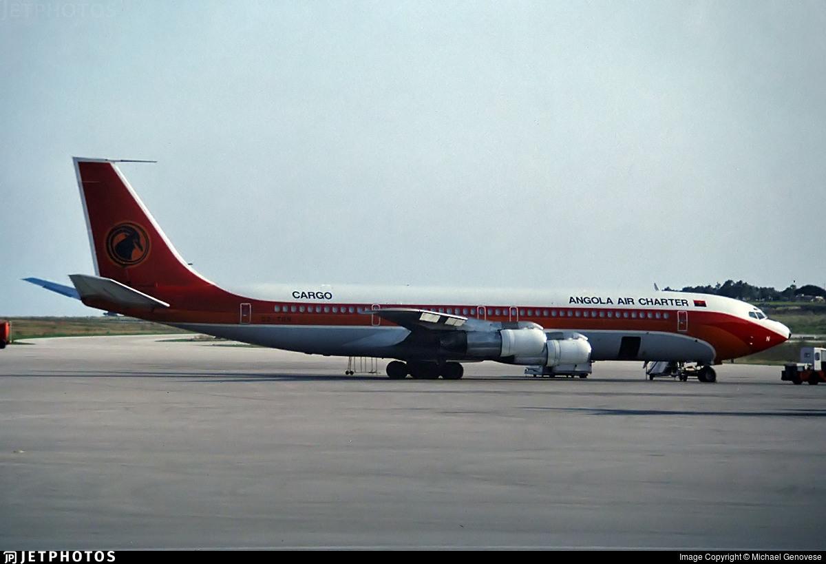 D2-TON - Boeing 707-324C - Angola Air Charter