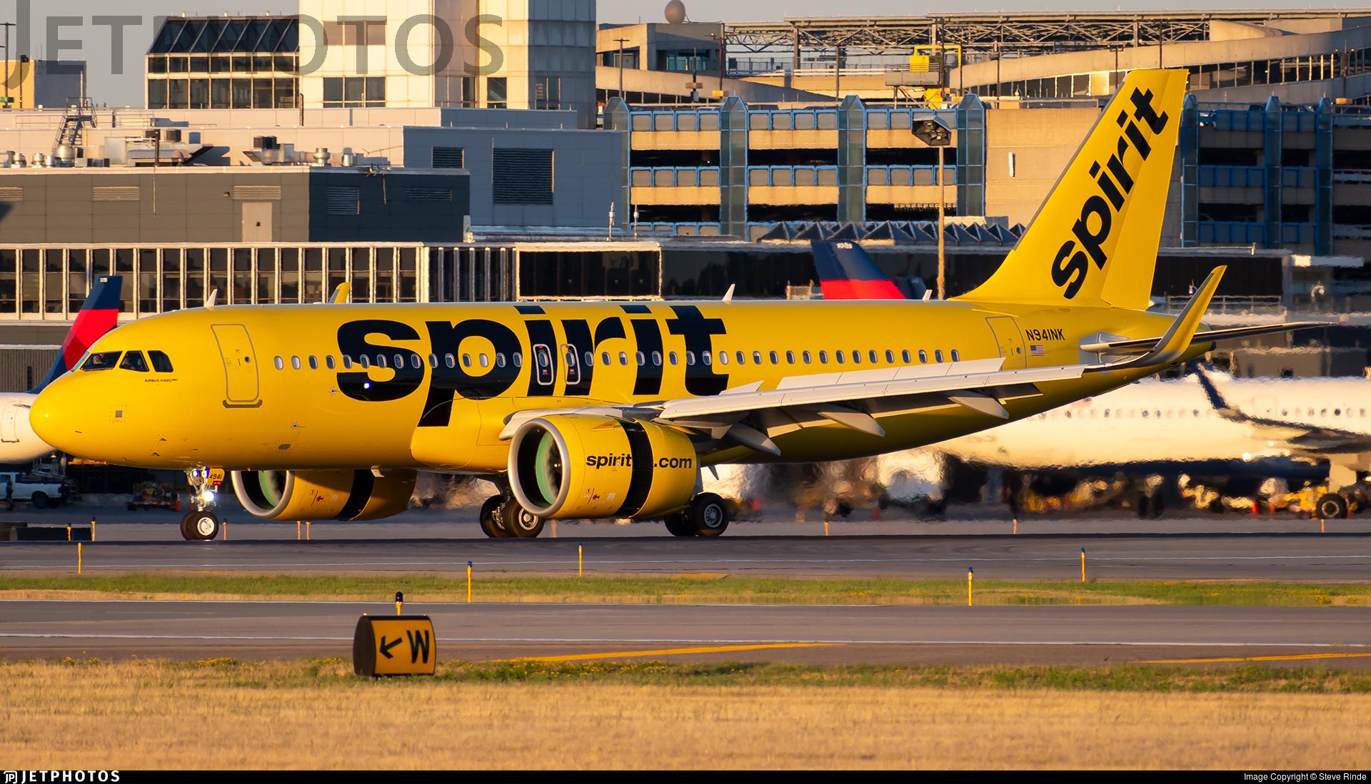 N941NK - Airbus A320-271N - Spirit Airlines