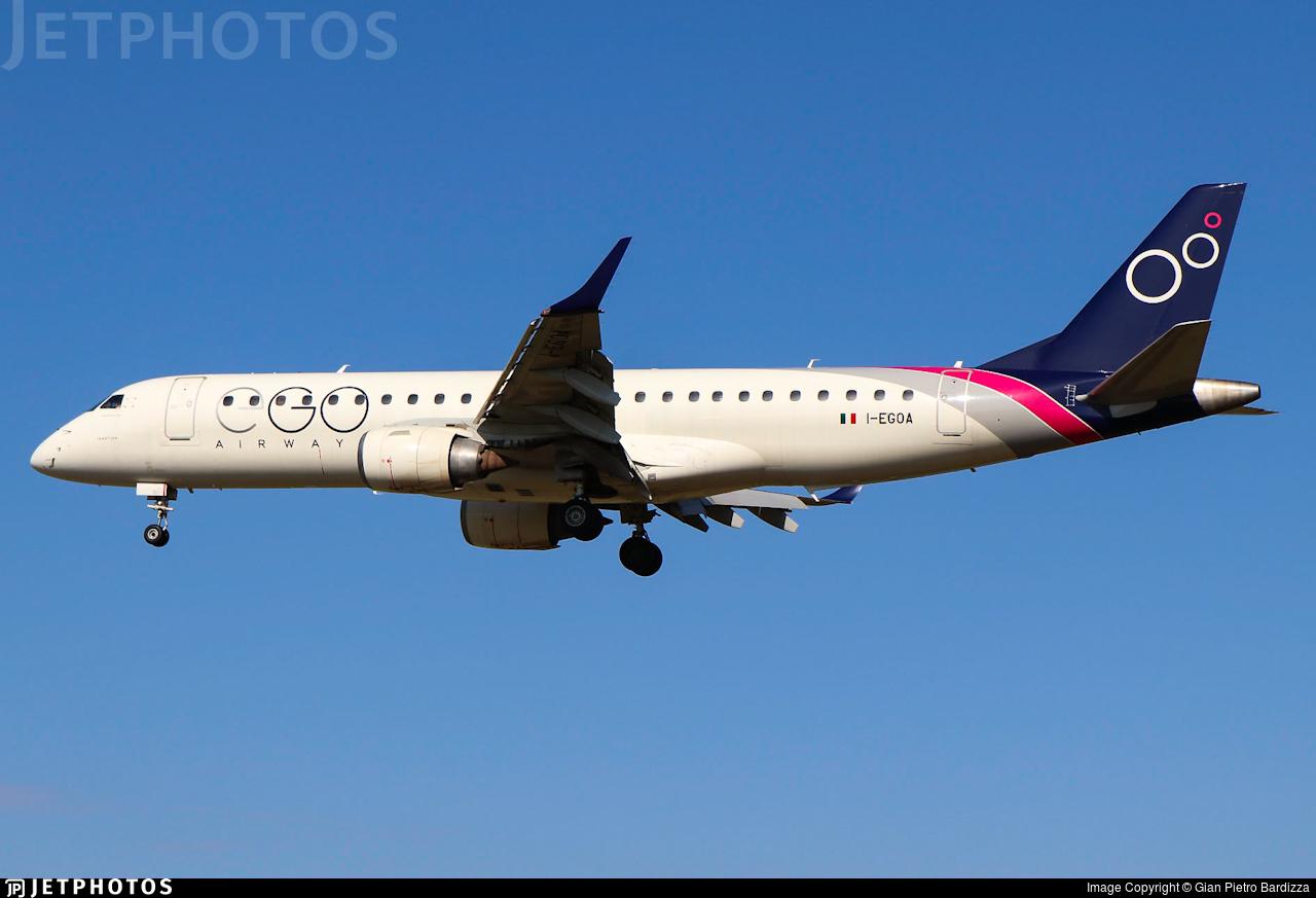 I-EGOA - Embraer 190-100LR - EGO Airways