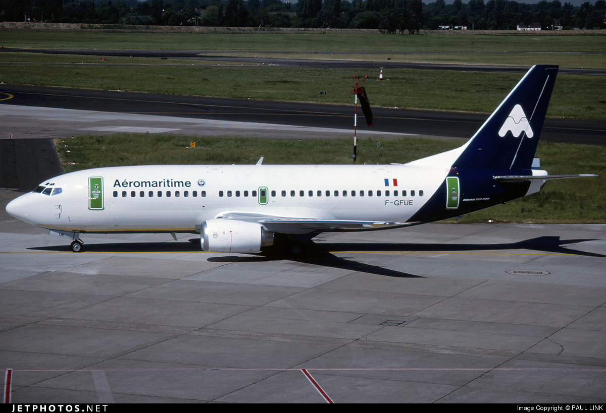 F-GFUE - Boeing 737-3B3 - Aéromaritime
