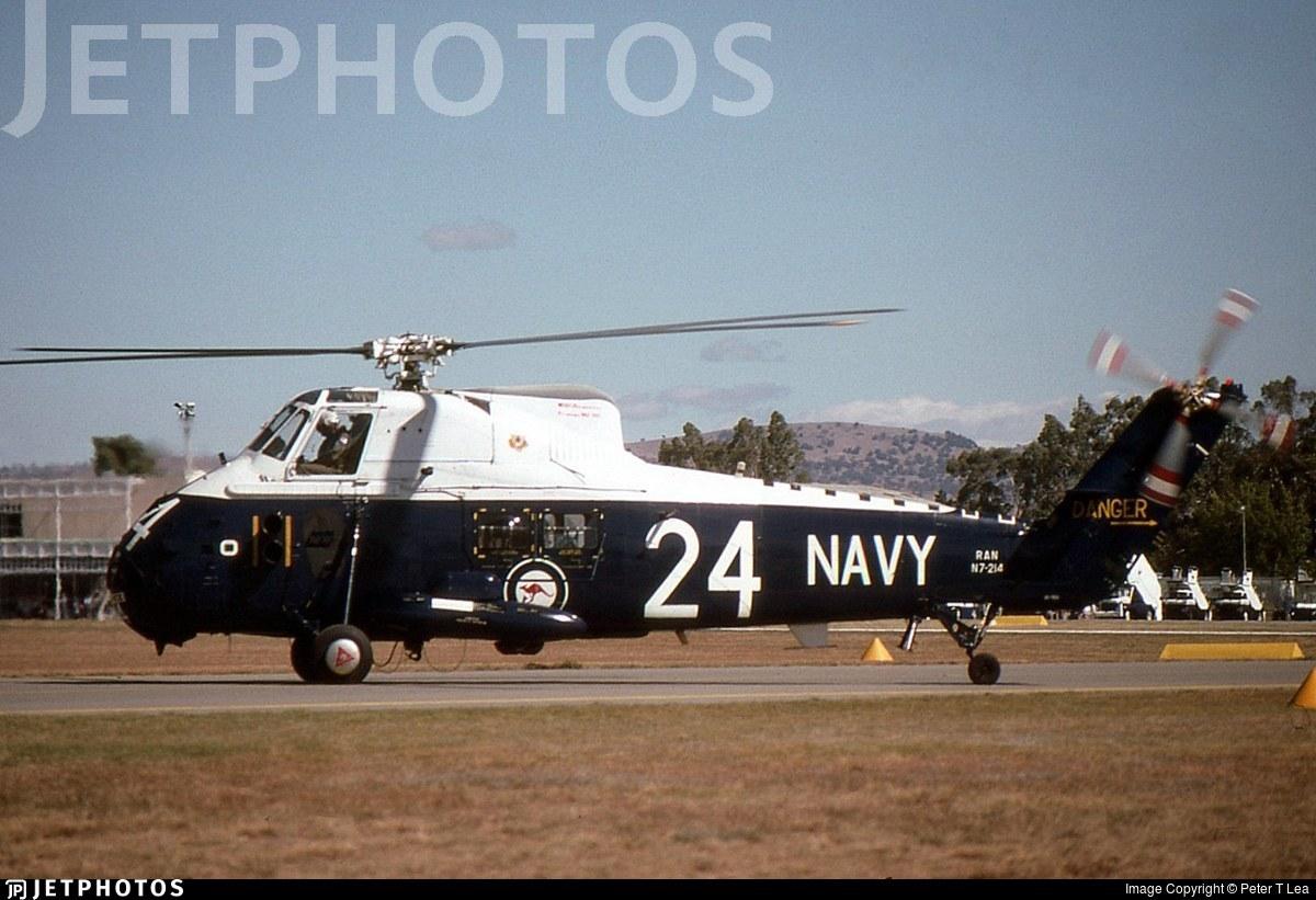 N7-214 - Westland Wessex HAS.31A - Australia - Royal Australian Navy (RAN)