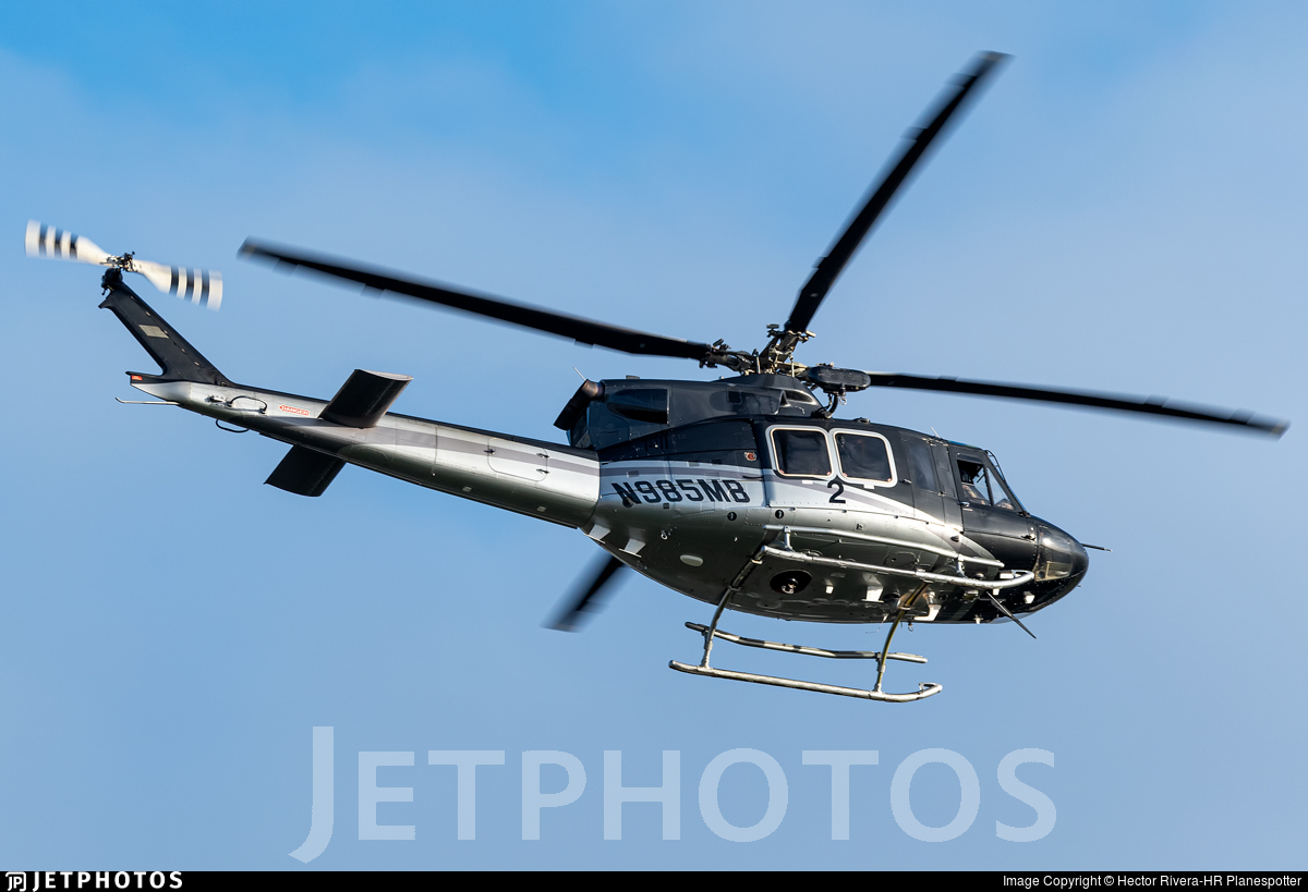 N985MB - Bell 412EP - United States - Department of Justice (DOJ)