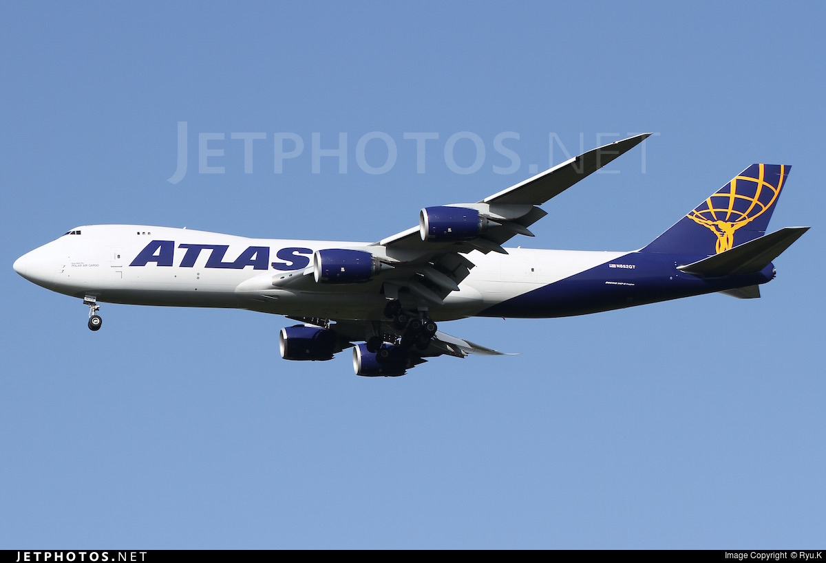 N852GT - Boeing 747-87UF - Atlas Air