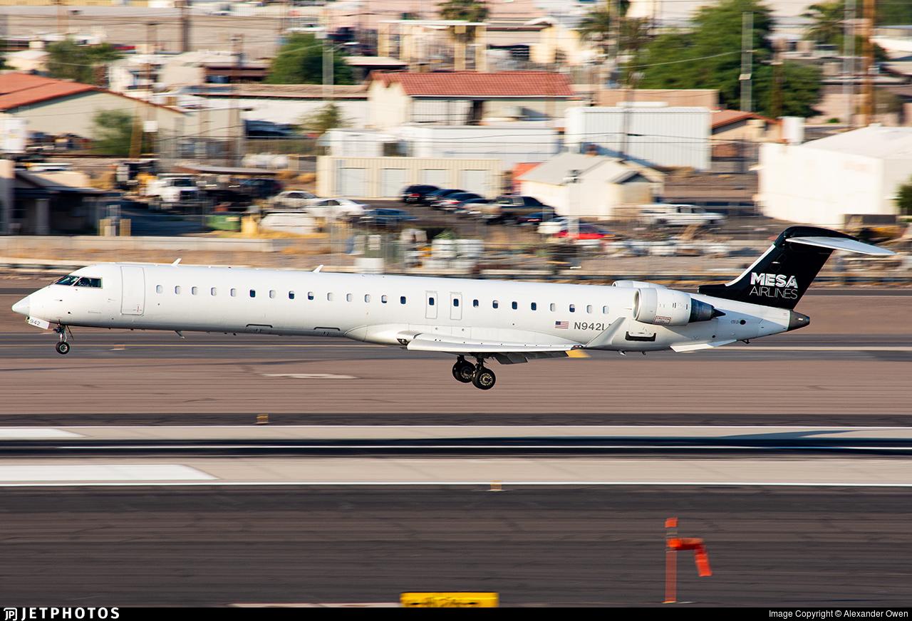N942LR - Bombardier CRJ-900ER - American Eagle (Mesa Airlines)