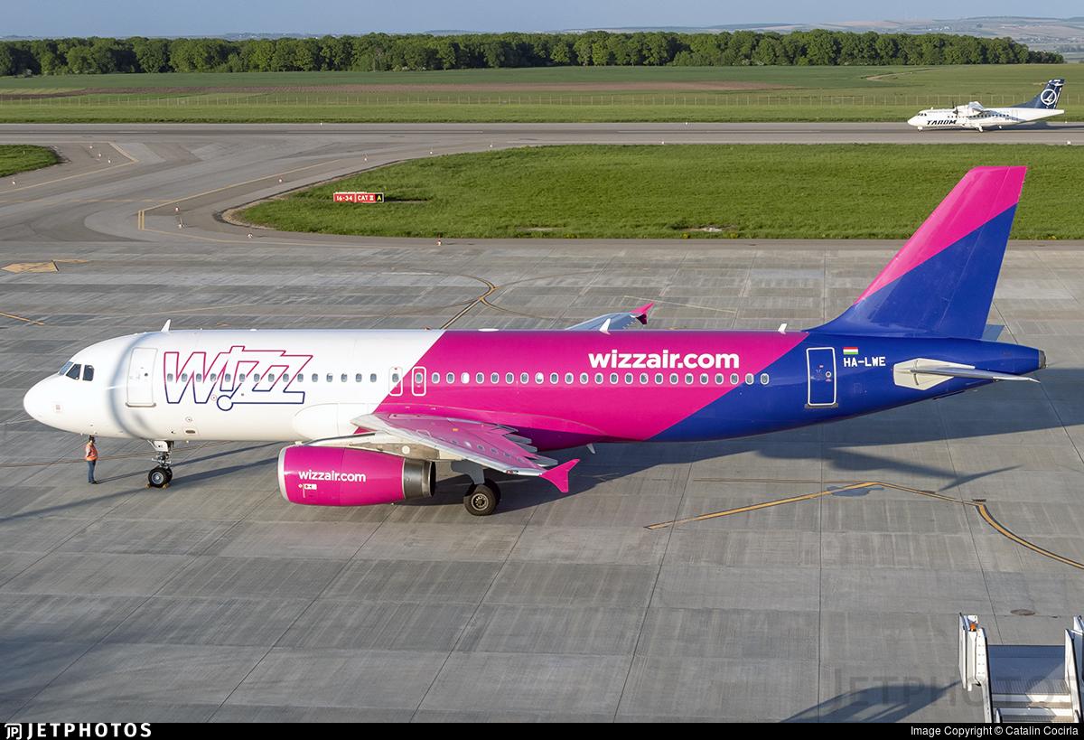 HA-LWE - Airbus A320-232 - Wizz Air