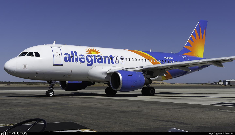 N335NV - Airbus A319-111 - Allegiant Air