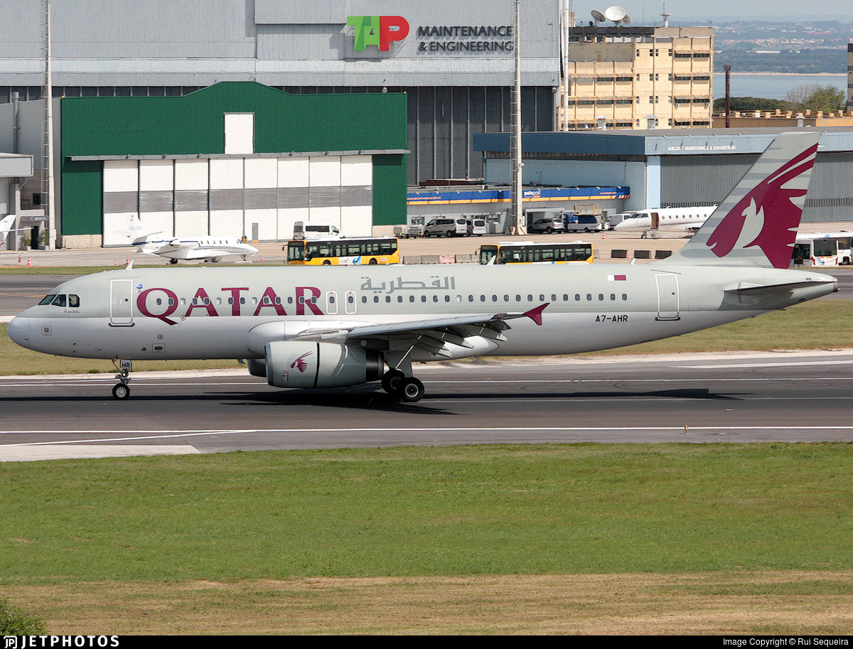 A7-AHR - Airbus A320-232 - Qatar Airways