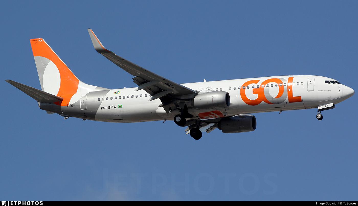 PR-GYA - Boeing 737-8EH - GOL Linhas Aereas