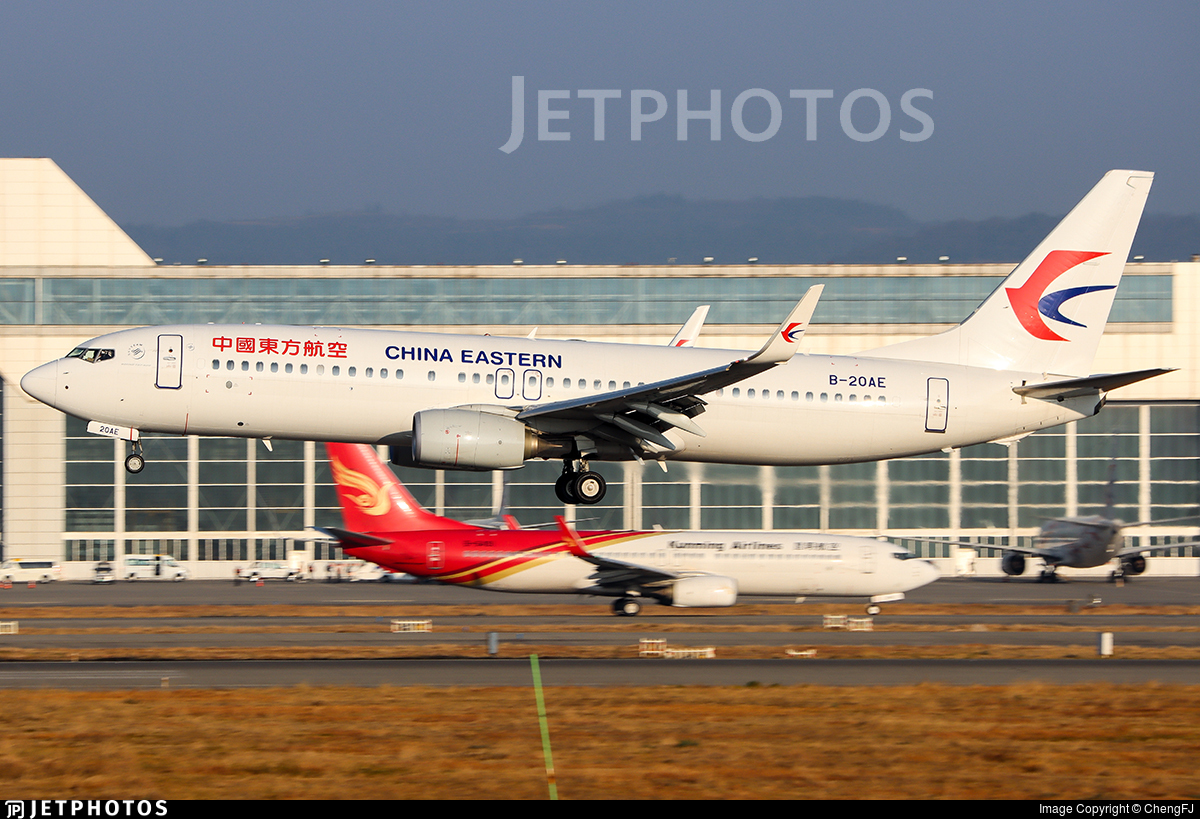 B-20AE - Boeing 737-89P - China Eastern Airlines