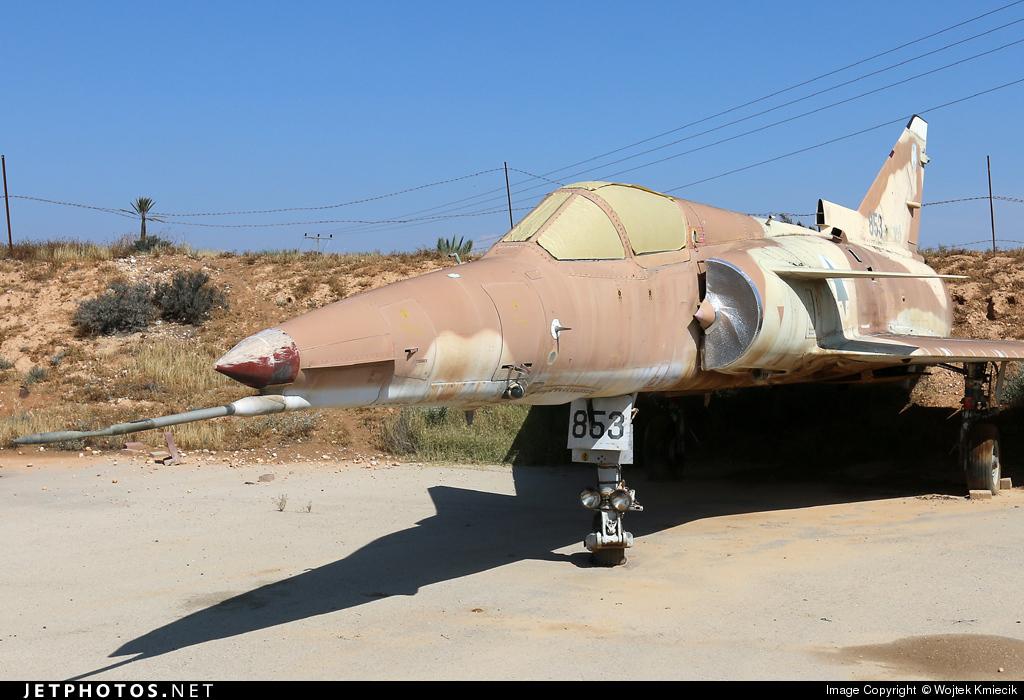 853 - IAI Kfir C2 - Israel - Air Force