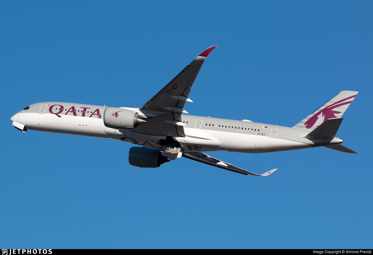 A7-ALF - Airbus A350-941 - Qatar Airways