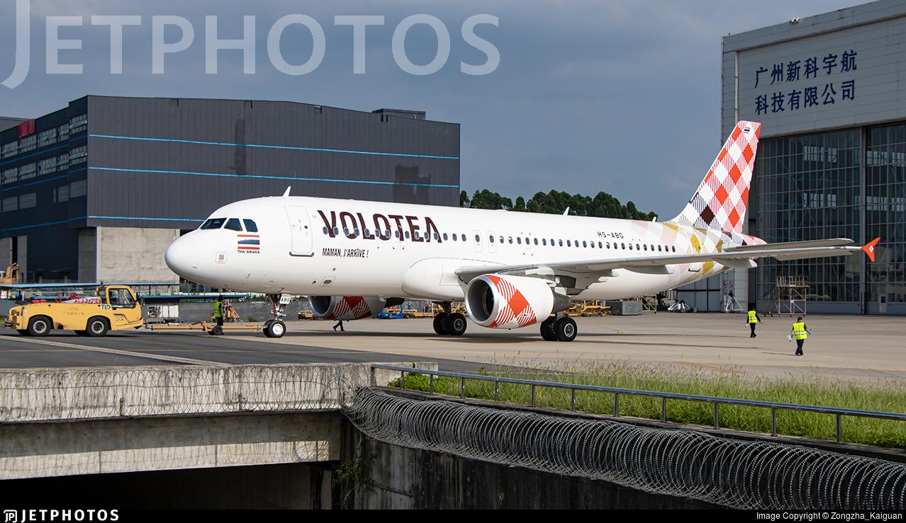 HS-ABG - Airbus A320-216 - Volotea