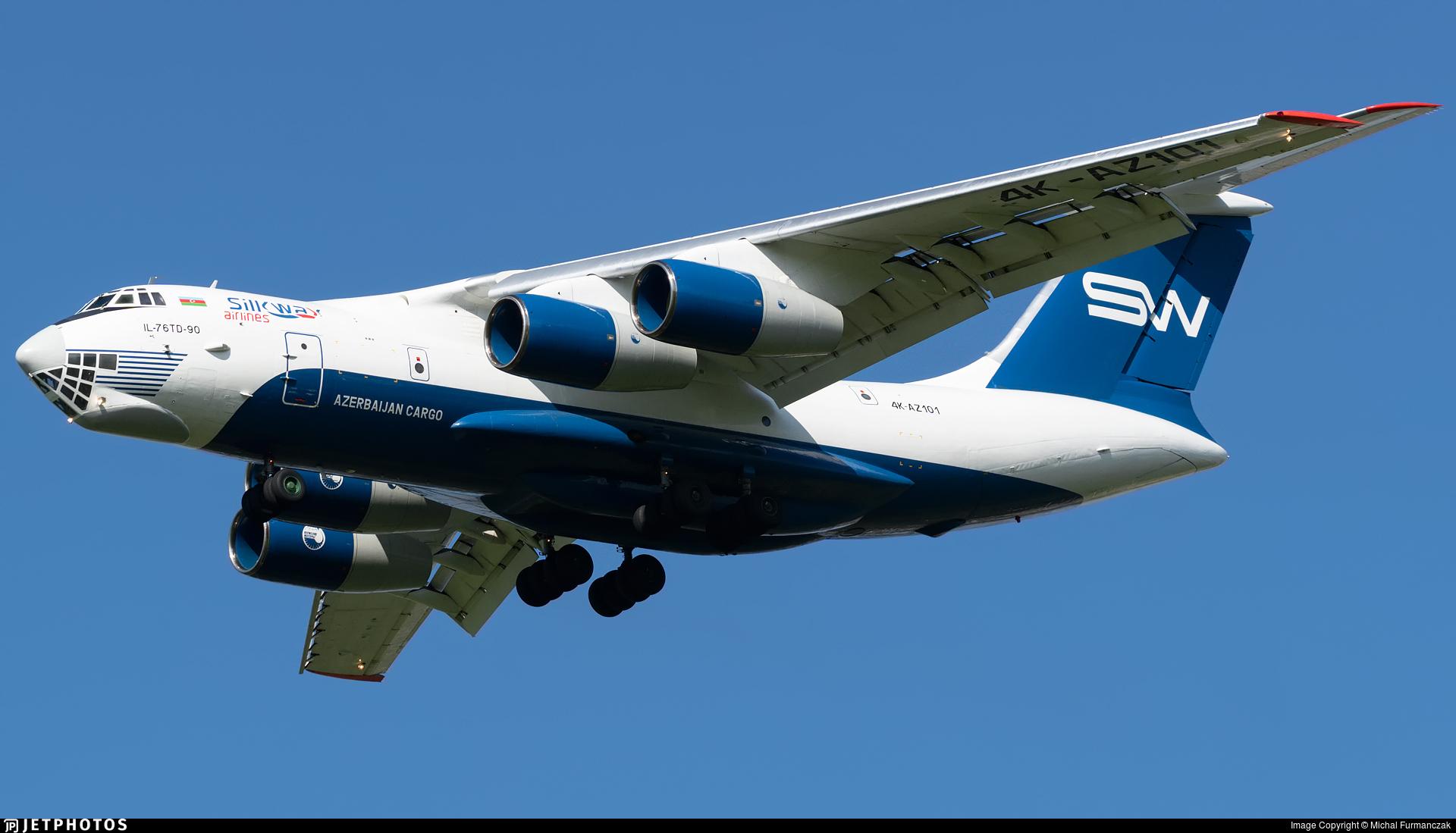 4K-AZ101 - Ilyushin IL-76TD-90VD - Silk Way Airlines