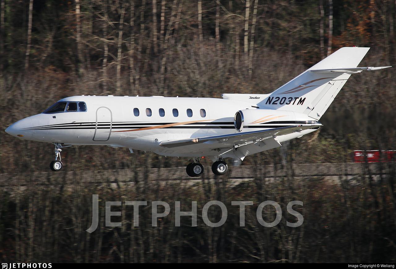 N203TM - Hawker Beechcraft 800XP - Private