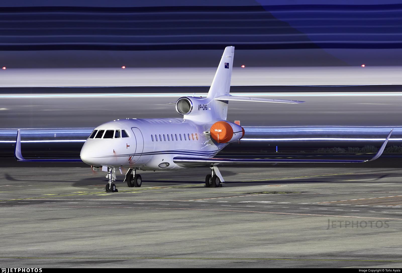 VP-CHG - Dassault Falcon 900LX - Private