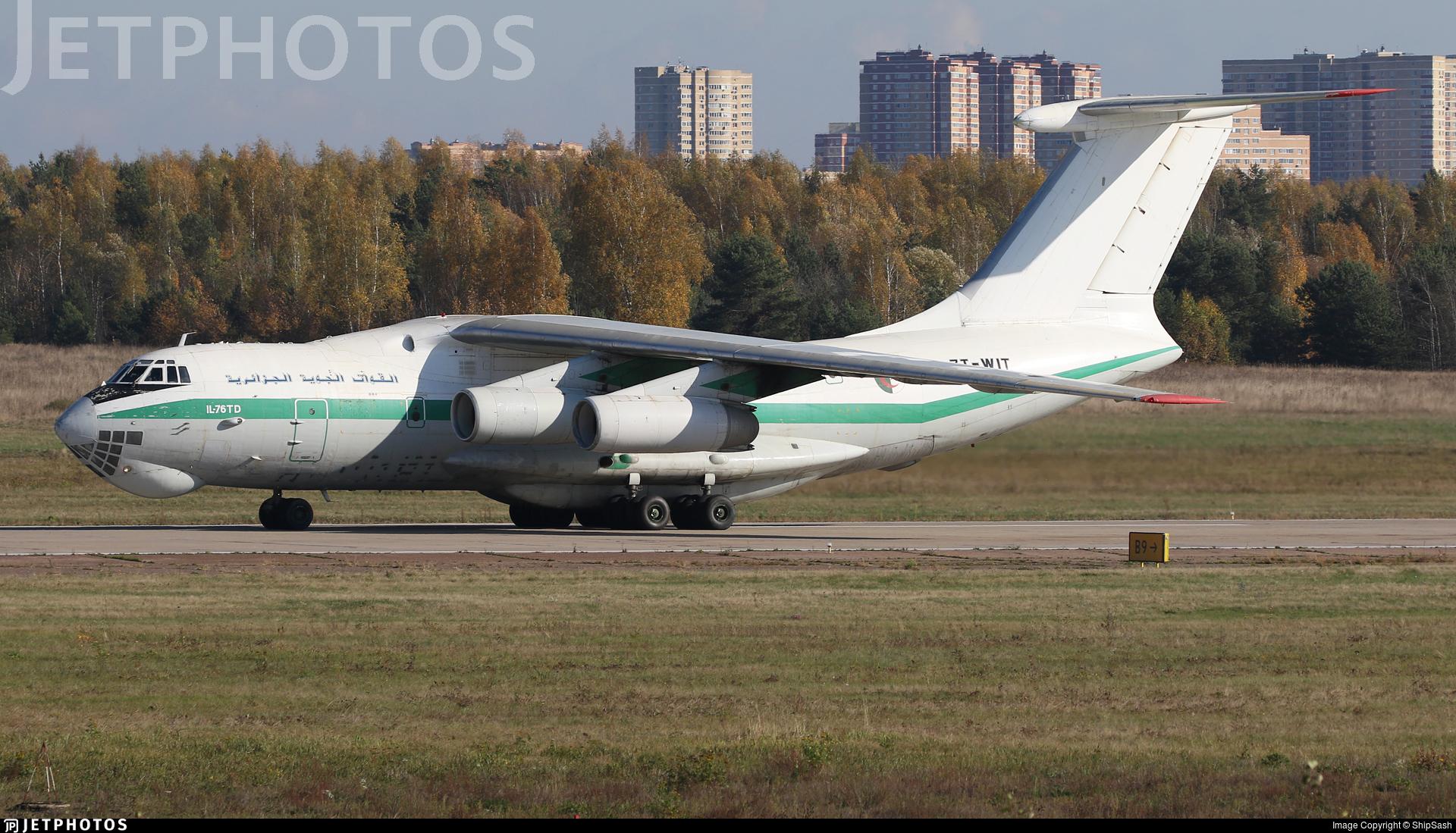 7T-WIT - Ilyushin IL-76TD - Algeria - Air Force