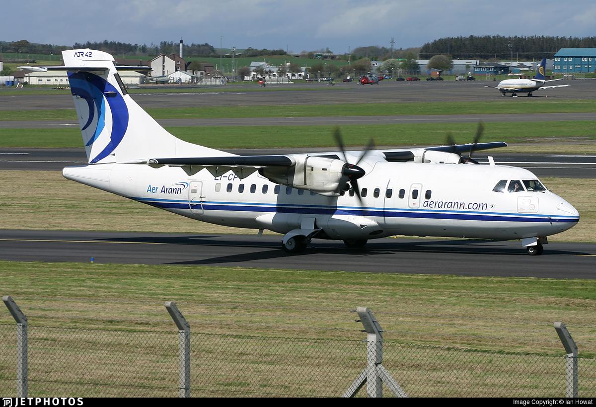 EI-CPT - ATR 42-300 - Aer Arann
