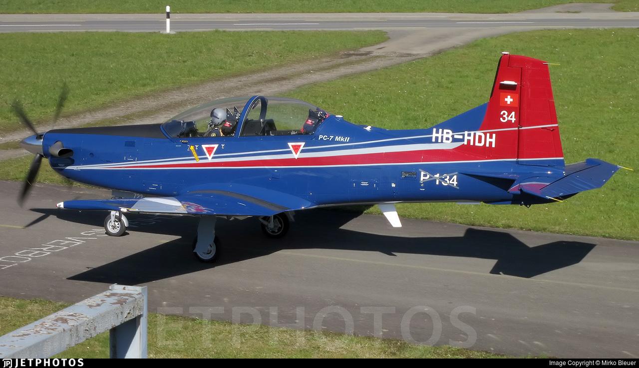 HB-HDH - Pilatus PC-7 Mk.II - Pilatus Aircraft