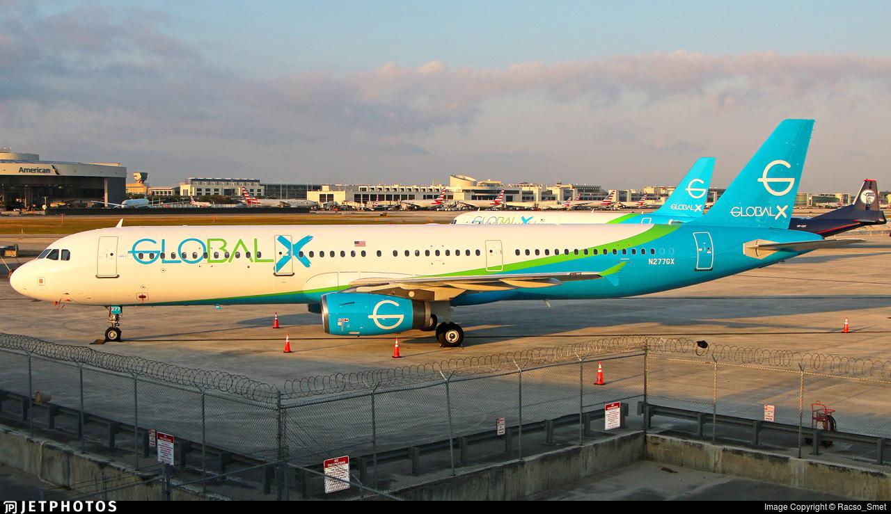 N277GX - Airbus A321-231 - Global X
