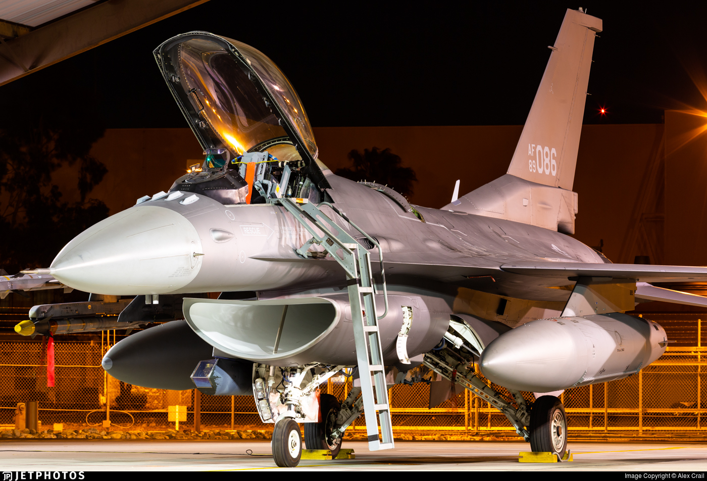 89-2086 - General Dynamics F-16C Fighting Falcon - United States - US Air Force (USAF)