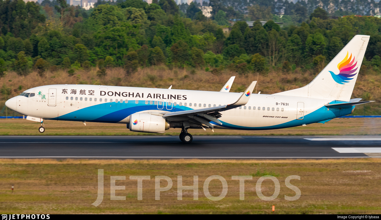 B-7631 - Boeing 737-83Z - Donghai Airlines