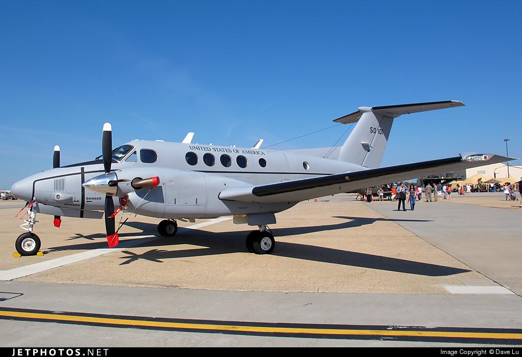 95-0101 - Beechcraft C-12R Huron - United States - US Air Force (USAF)