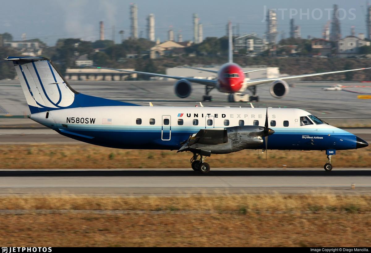 N580SW - Embraer EMB-120ER Brasília - SkyWest Airlines