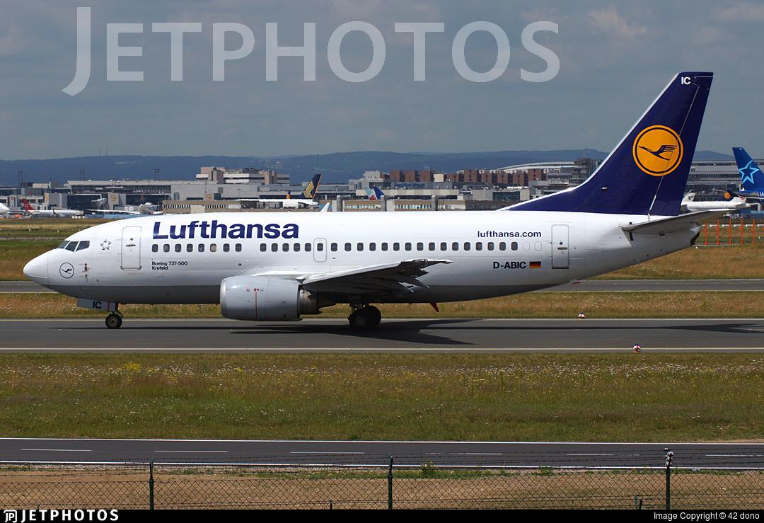 D-ABIC - Boeing 737-530 - Lufthansa