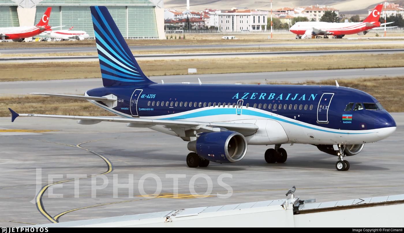 4K-AZ05 - Airbus A319-111 - AZAL Azerbaijan Airlines