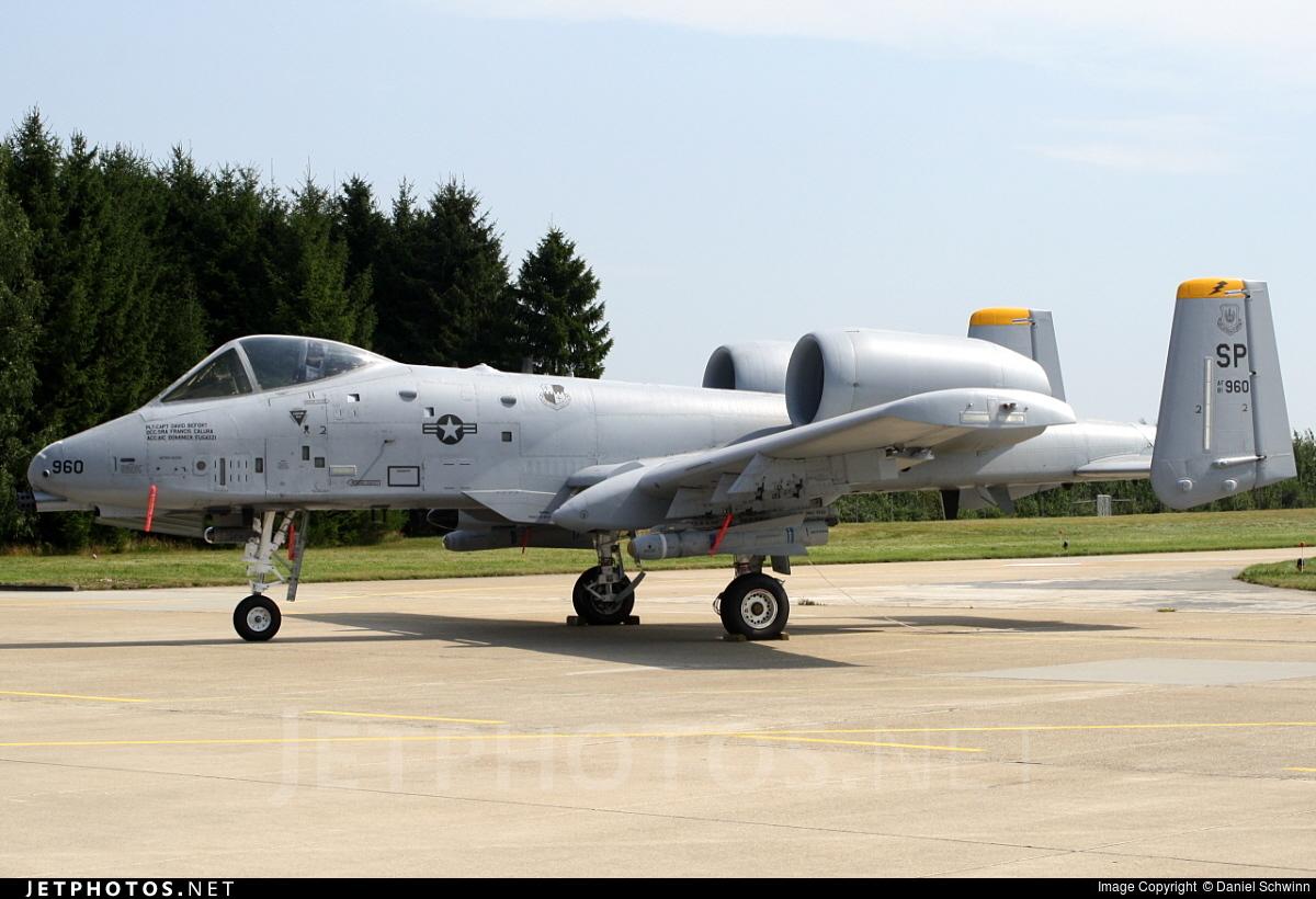 81-0960 - Fairchild A-10A Thunderbolt II - United States - US Air Force (USAF)