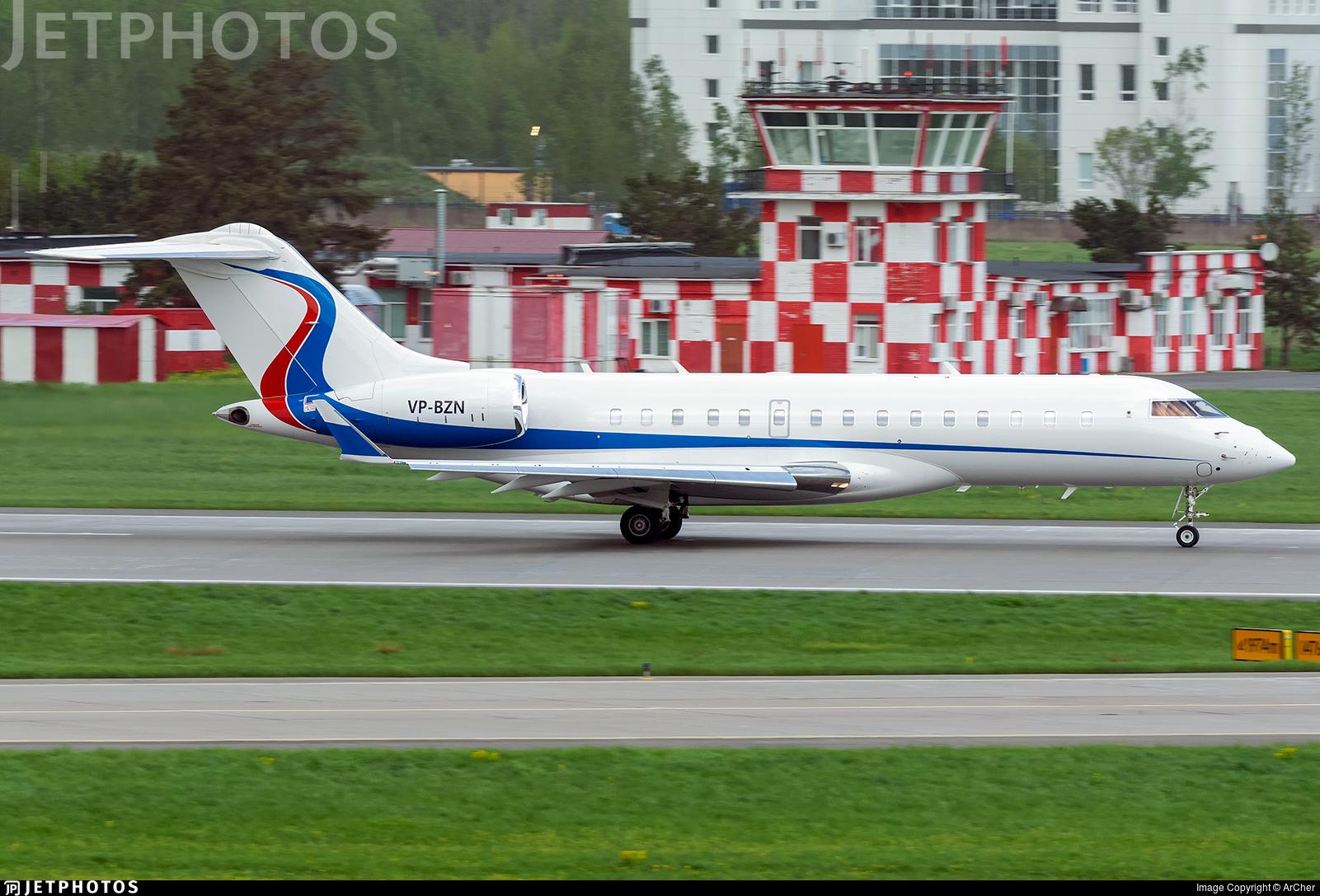 VP-BZN - Bombardier BD-700-1A10 Global 6000 - Avcon Jet