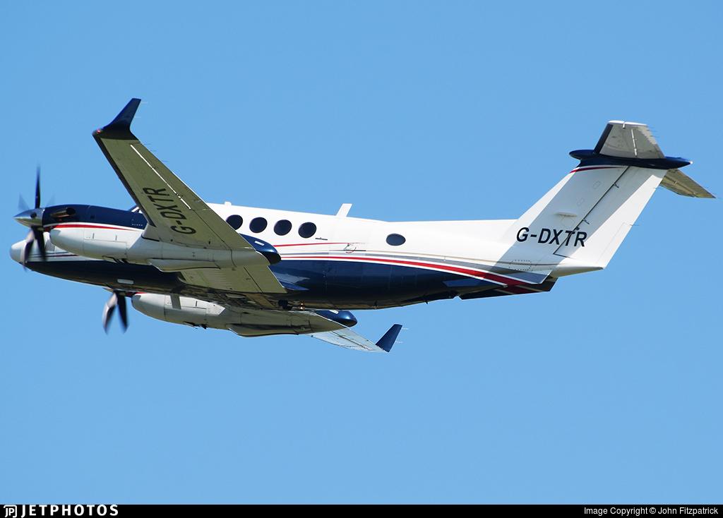 G-DXTR - Beechcraft 200 Super King Air - Synergy Aviation