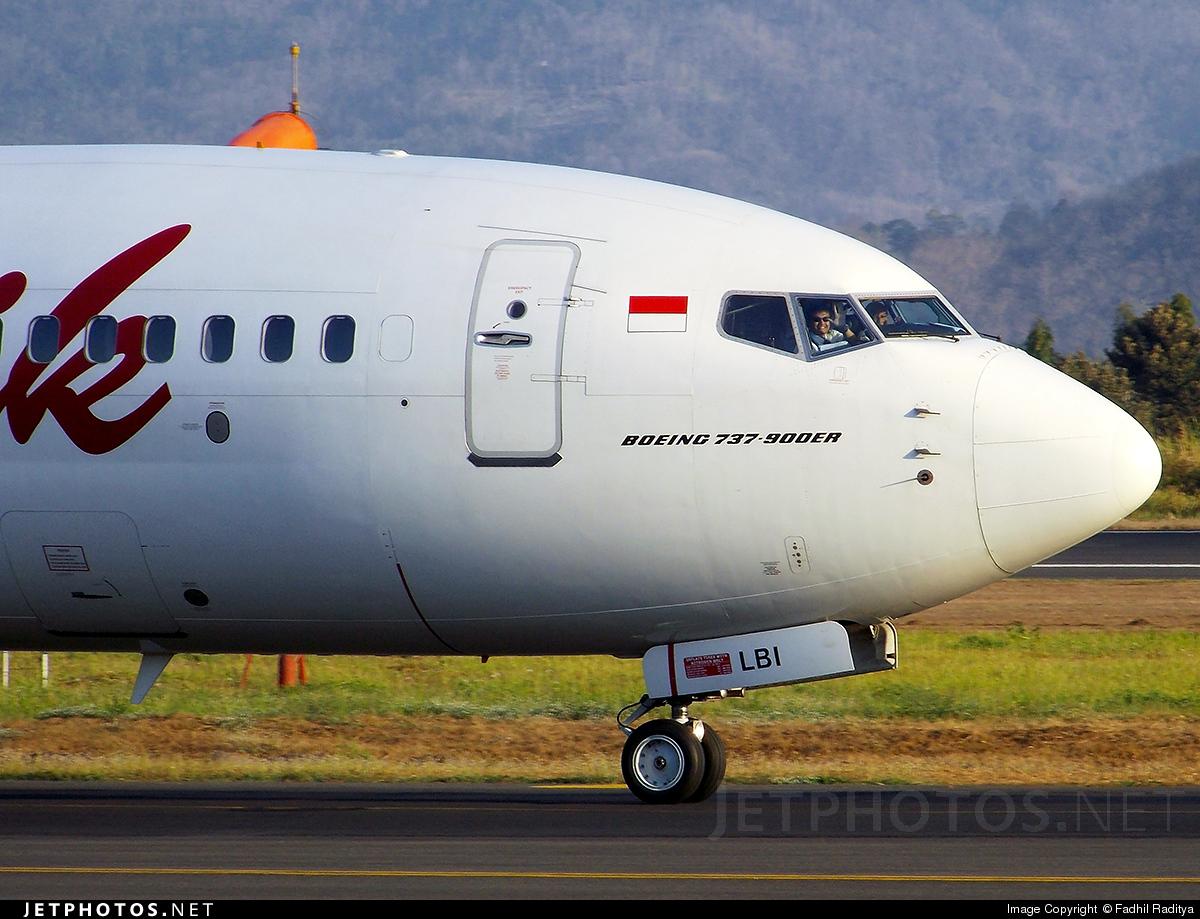 PK-LBI | Boeing 737-9GPER | Batik Air | Fadhil Fachri