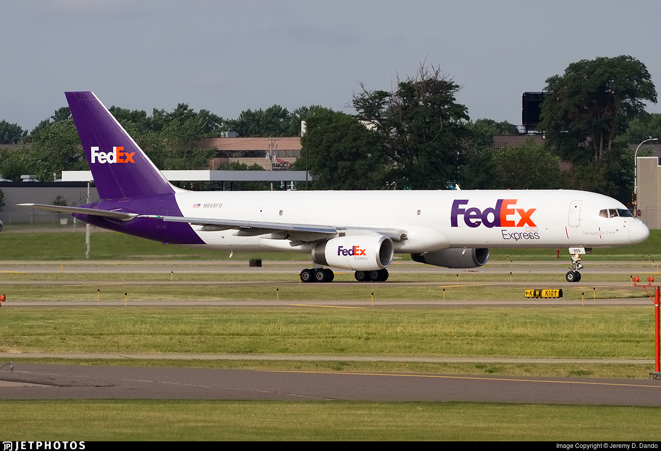 N955FD - Boeing 757-236(PCF) - FedEx