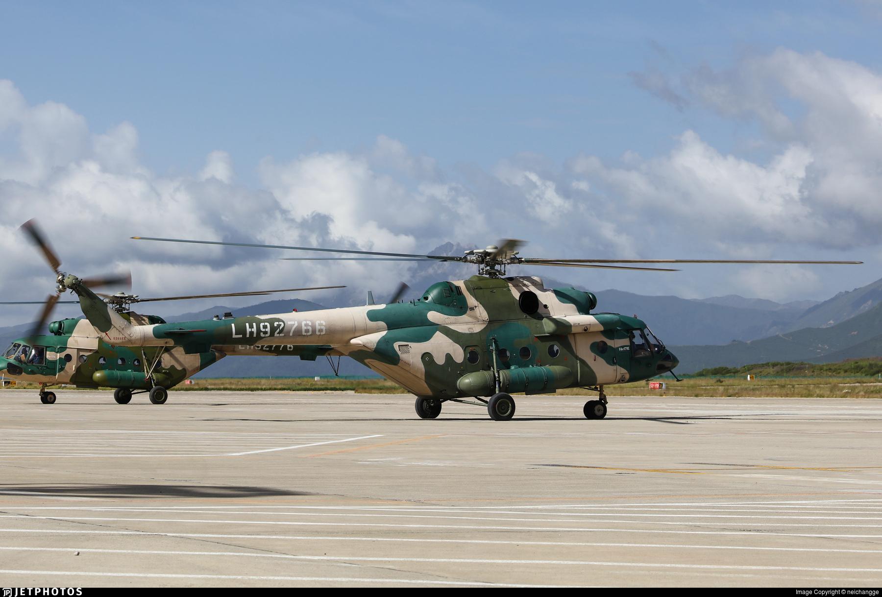 LH92766 - Mil Mi-171E Baikal - China - Army