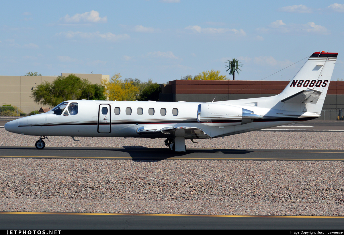 N808QS - Cessna 550 Citation II - NetJets Aviation