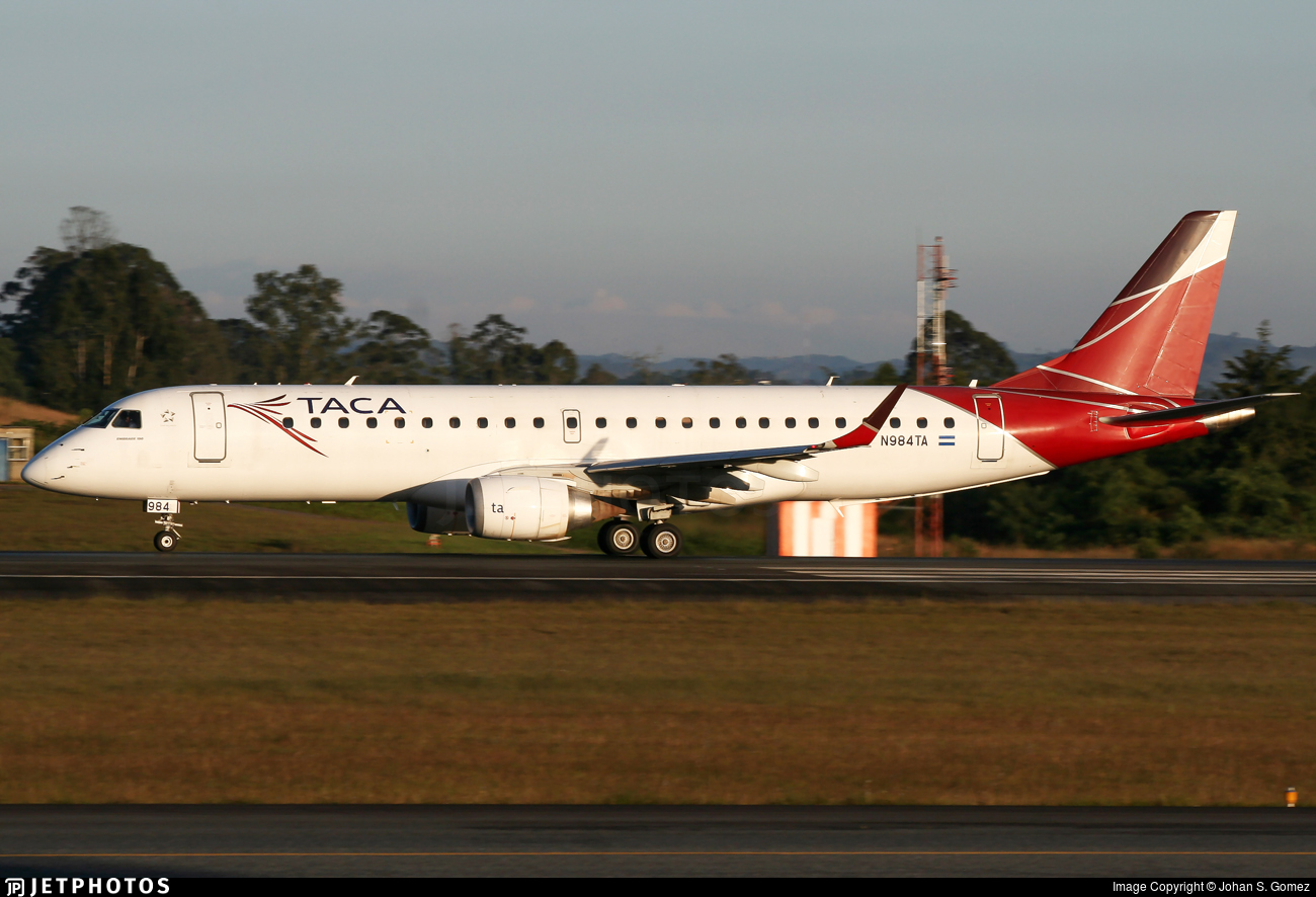 N984TA - Embraer 190-100IGW - TACA International Airlines