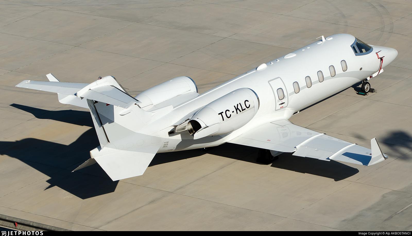 TC-KLC - Bombardier Learjet 60 - Private