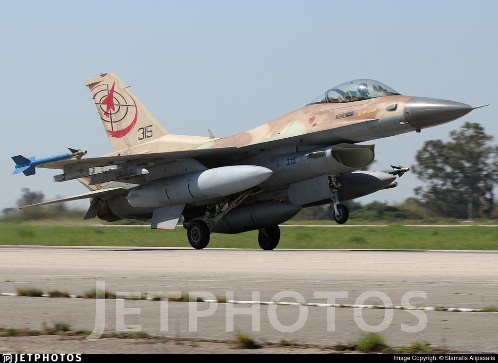 315 - Lockheed Martin F-16C Barak - Israel - Air Force