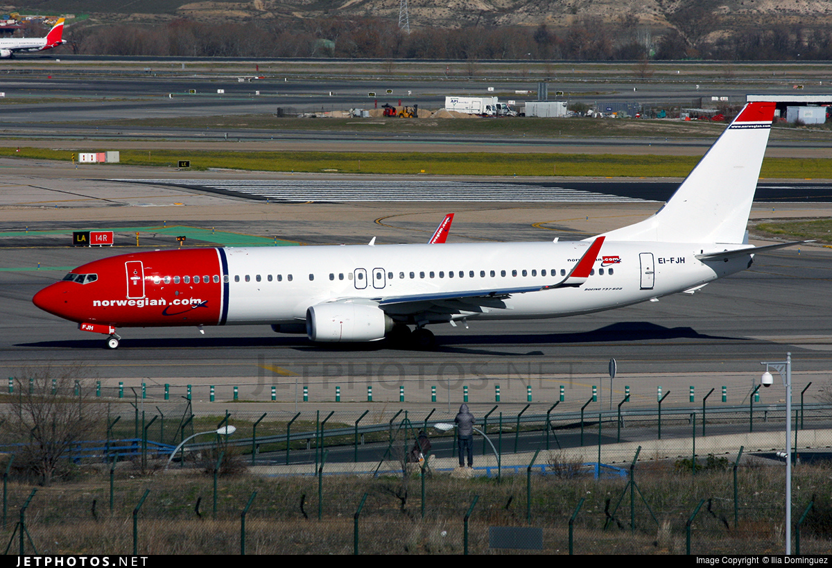 EI-FJH - Boeing 737-8JP - Norwegian
