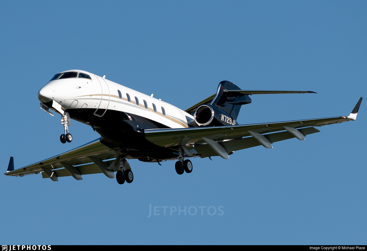 N729JF - Bombardier BD-100-1A10 Challenger 300 - Private